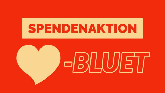 Spendenaktion: HÄRZBLUET für Brandis & Partner