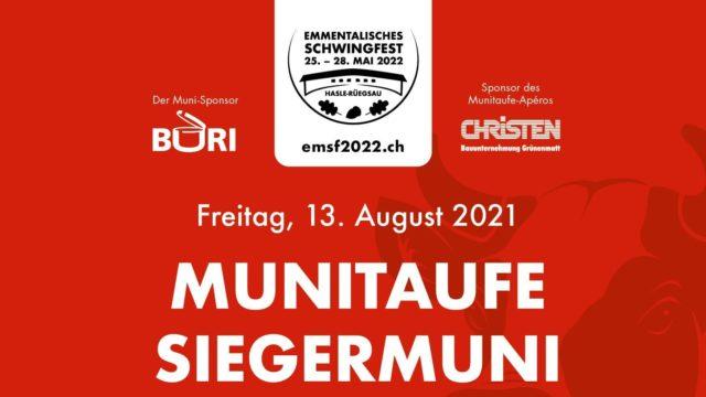 EMSF2022 – Muni-Taufe
